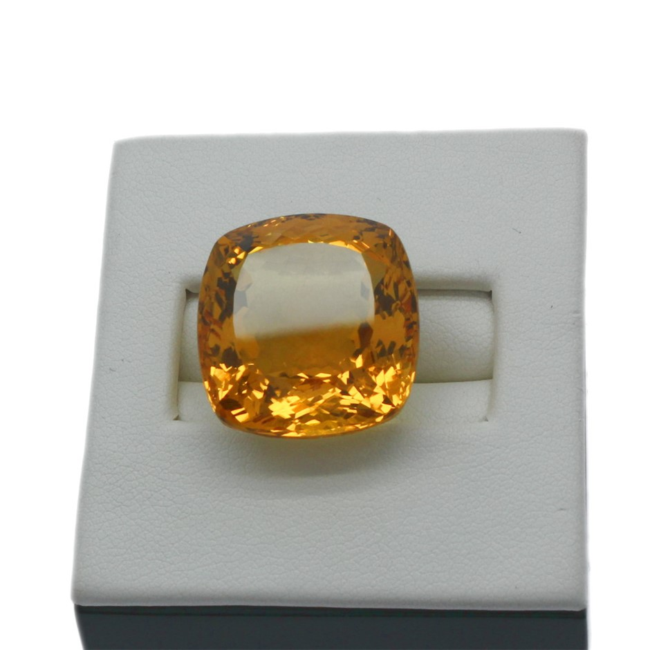 One Loose Citrine 30.30ct in Total