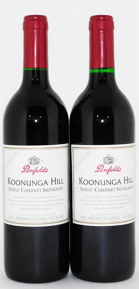 Penfolds `Koonunga Hill` Shiraz Cabernet 1991 (2 x 750mL), SA.