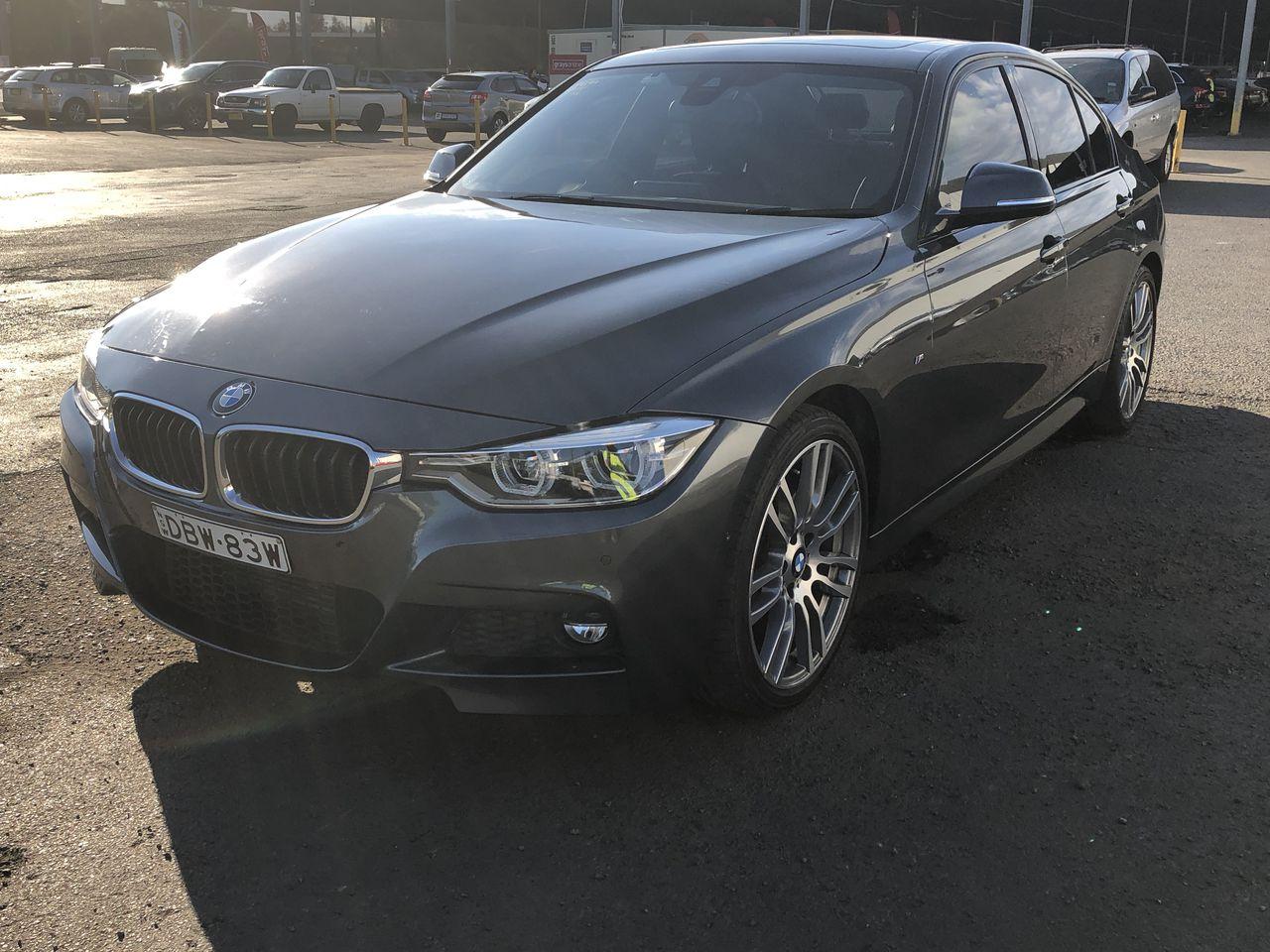 2015 BMW 3 Series 318i F30 LCI Automatic - 8 Speed Sedan