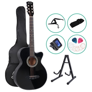 ALPHA 38 Inch Wooden Acoustic Guitar Cla