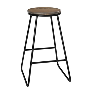 timeless design eaf38 78584 Artiss 4x Vintage Bar Stools Rustic Retro Industrial Kitchen Chairs