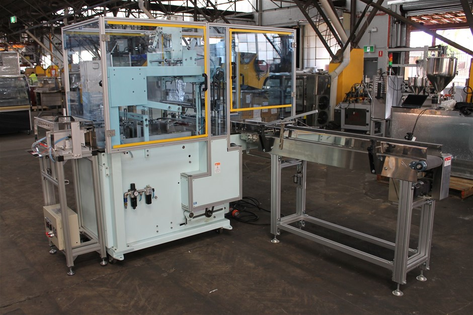 Chi Mei Commercial Automated Overwrapping Machine