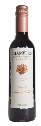 Chambers Grand Muscadelle NV (12 x 375mL), Rutherglen, VIC.