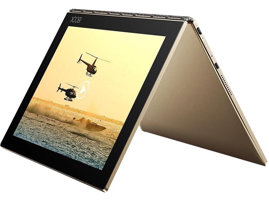 Lenovo Yoga Book YB1-X90F 10.1-inch Tablet, Champagne Gold