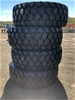 Qty of 4 x Unused 20.5R25 Radial Earthmoving Tyres