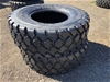 Qty of 2 x Unused 17.5R25 Radial Earthmoving Tyres