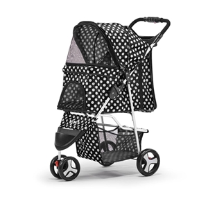 i.Pet Pet Stroller Cat Dog Cage Carrier