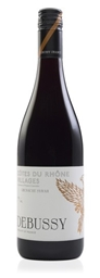 Debussy Cotes-du-Rhones Villages Grenache 2016 (12 x 750mL), France.
