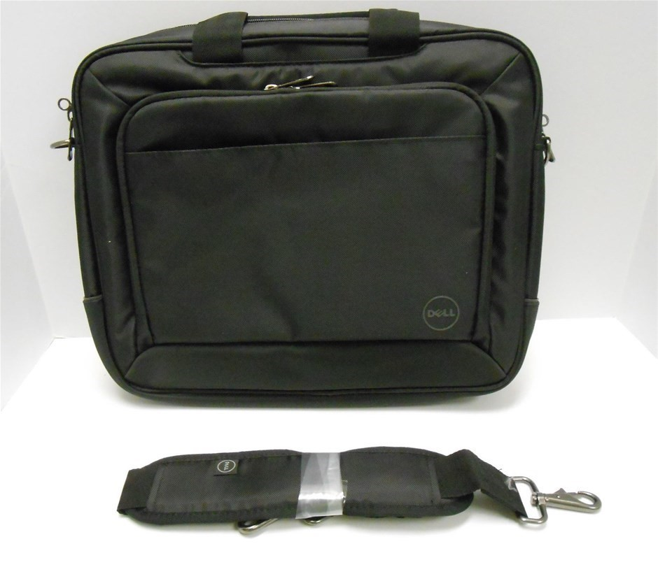 Dell Nylon Top load Laptop Bag with Shoulder Strap - Fits up to 14.0``