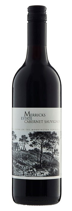 Merricks Estate Cabernet Sauvignon 2010 (12 x 750mL), Mornington Peninsula.