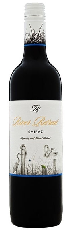 Trentham Estate `River Retreat` Shiraz 2017 (12 x 750mL), NSW.