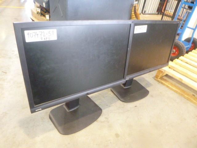 2 x Benq Monitors