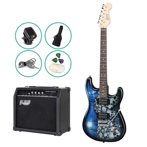 Alpha Electric Guitar and 25W Amplifier