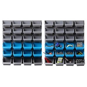 Giantz 48 Bin Wall Mounted Rack Storage