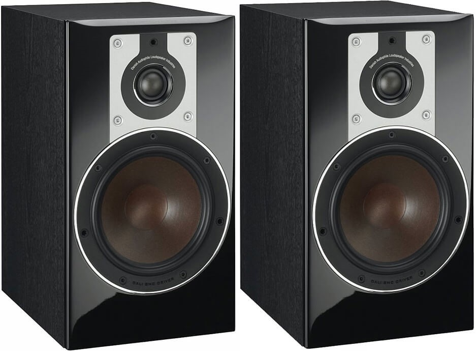Dali Opticon 2 Compact Stand-Mount Speakers (Pair) (Black)