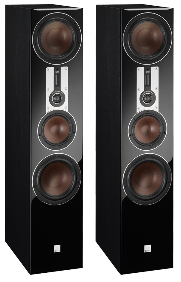 Dali Opticon 8 Towering Floor-Stander Speakers (Pair) (Black)
