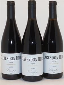 Clarendon Hills `Liandra` Syrah 2003 (3x