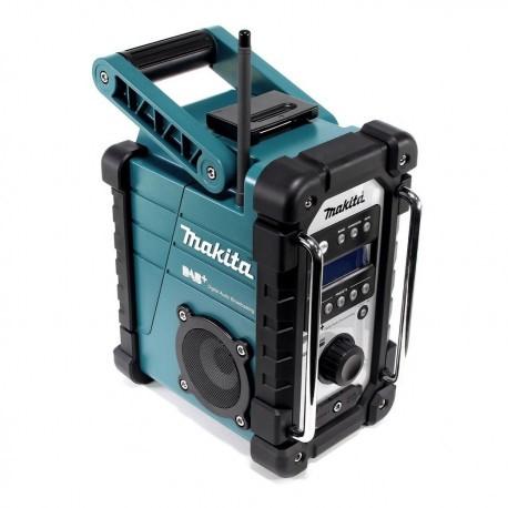 MAKITA Digital Jobsite Radio, Model DMR110, 76mm Speaker Dia, Antenna, IP64