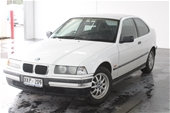 Unreserved 1996 BMW 3 18ti E36 Automatic Hatchback