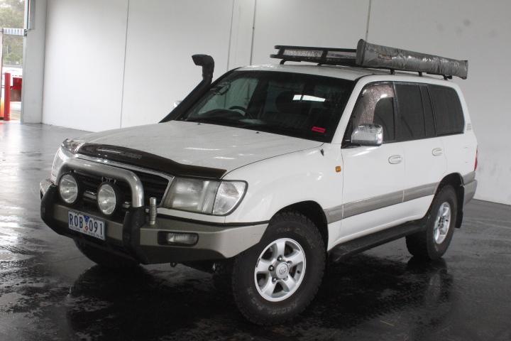 2000 Toyota Landcruiser GXV Dual Fuel (4x4) UZJ100R Automatic Wagon