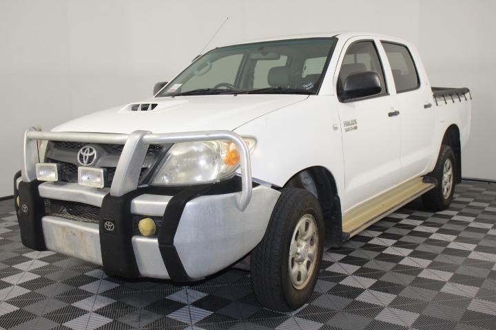 2007 Toyota Hilux SR 4WD 3.0T/D Automatic Dual Cab