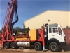 Hydco 300 RC Truck Mounted Drill Rig mounted on Mercedes 8x4 Truck
