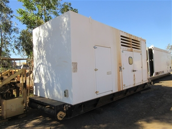 2x Skid Mounted Power Packs for Pumping Units