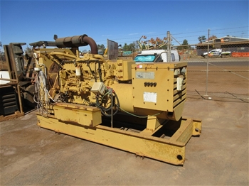 750 kVA Caterpillar Skid Mounted Genset