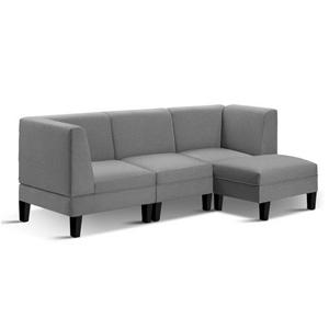 Artiss 4 Seater Sofa Bed Set Modular Lou