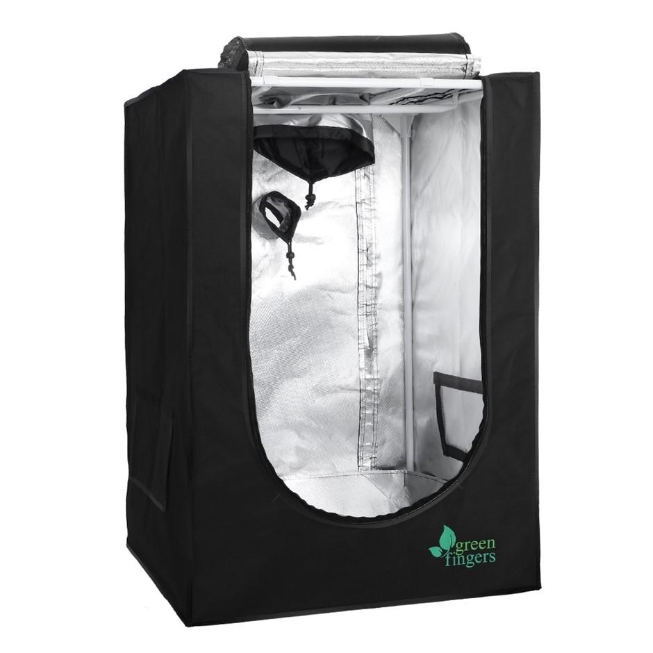Greenfingers 60X60X90CM Hydroponics Grow Tent Kits Grow System Black
