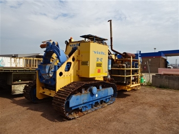 """2011 Vietz 30-42"""" Track Mounted Pipe Bender"""