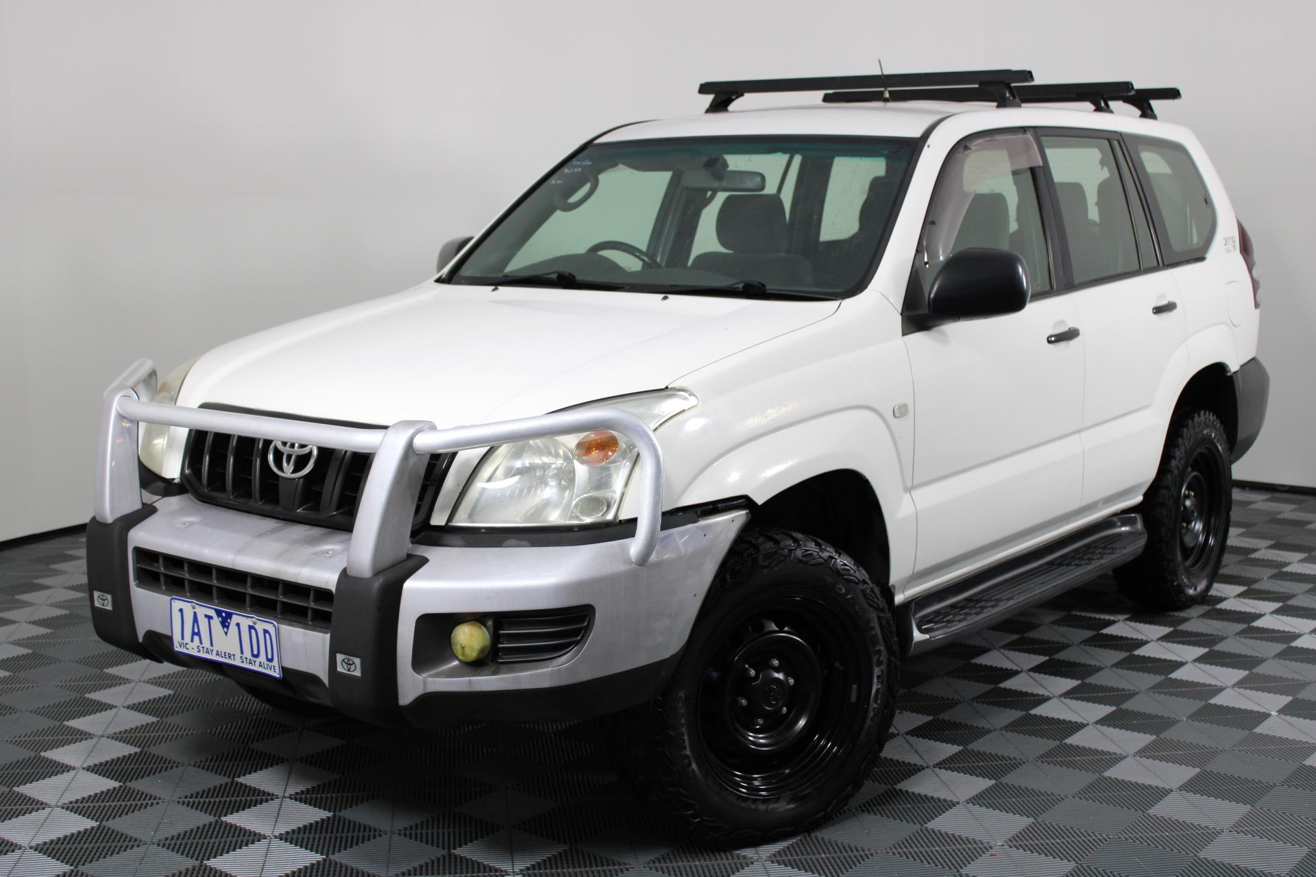 2003 Toyota Landcruiser Prado GX (4x4) KZJ120R T-Diesel Manual Wagon