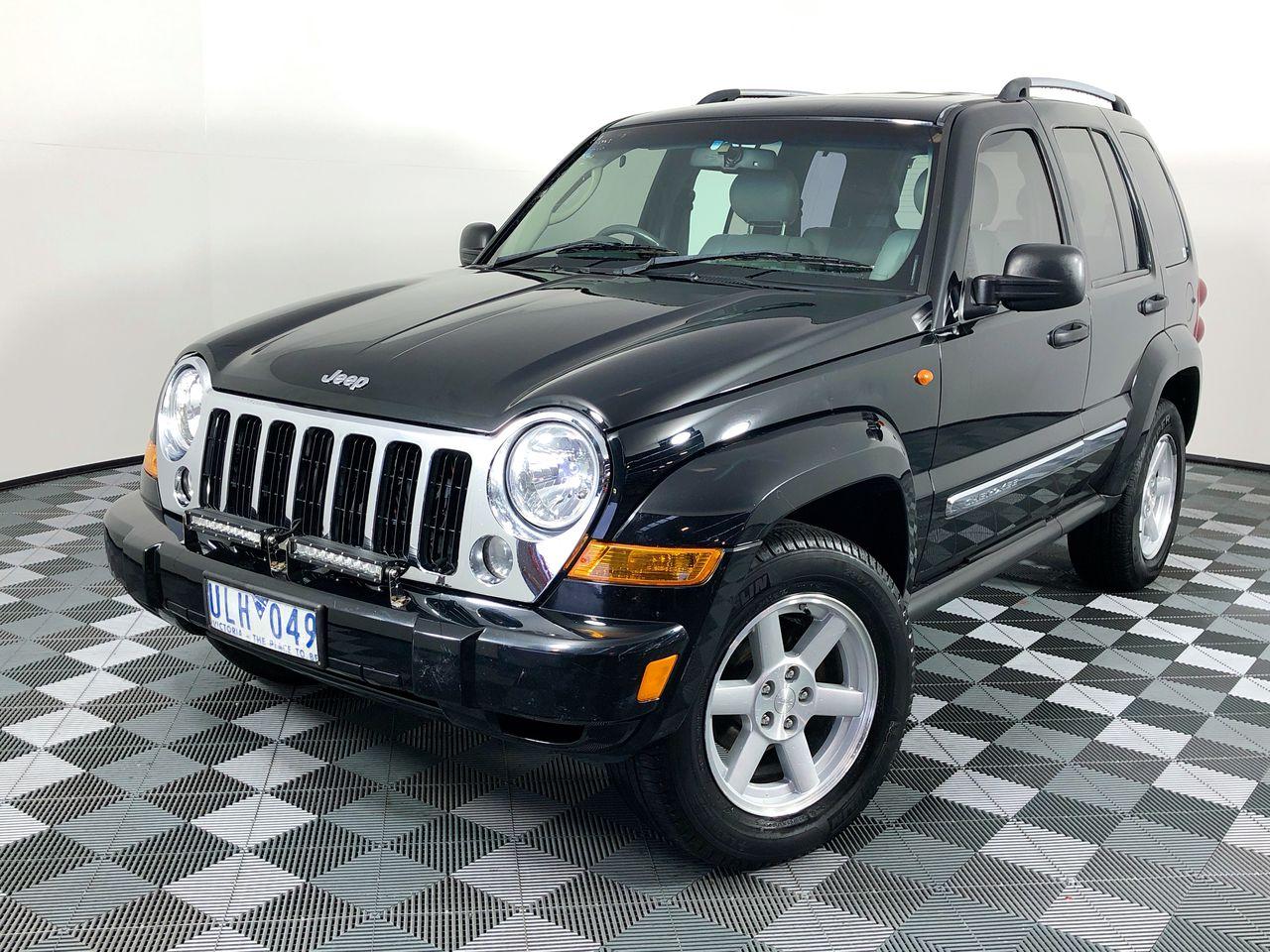 2006 Jeep Cherokee Limited (4x4) KJ Turbo Diesel Automatic Wagon