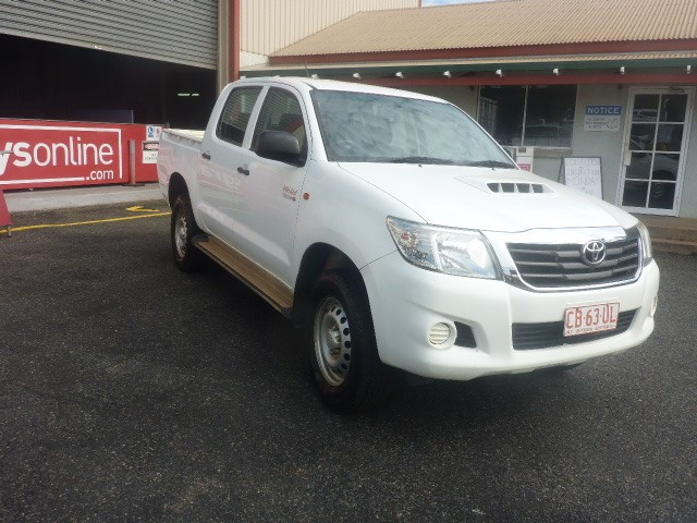 2014 Toyota Hilux SR 4X4 4WD Automatic - 5 Speed Dual Cab UTE