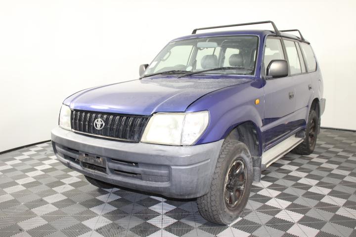 2000 Toyota Landcruiser Prado RV6 (4x4) VZJ95R Manual 7 Seats Wagon