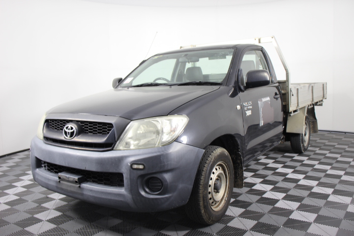 2009 Toyota Hilux Workmate TGN16R Manual Cab Chassis