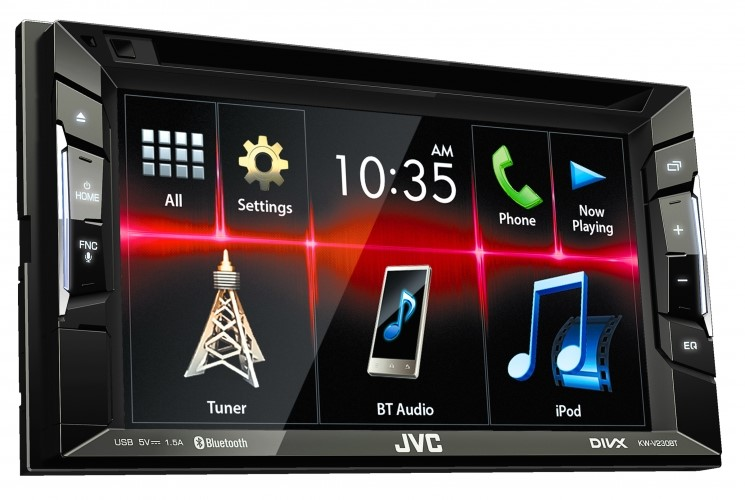 JVC KW-V230BT 2-DIN AV Receiver
