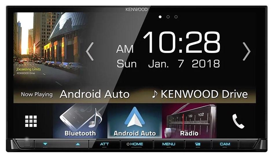 """Kenwood DMX8018S 7"""" Apple CarPlay Android Auto Head Unit"""