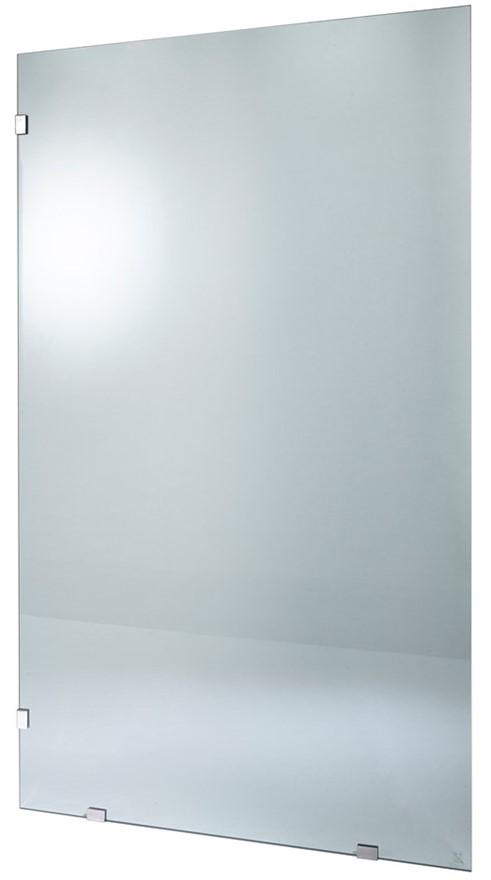 Fully Frameless Fixed Shower Panel - 2000 x 1175 x 10mm