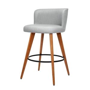 Artiss 2x Wooden Bar Stools Modern Bar S