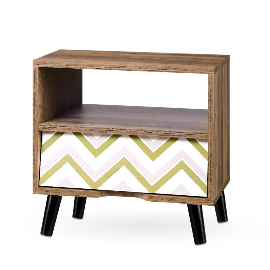 Artiss Bedside Tables Drawer Storage Cabinet Chest Style Side Table