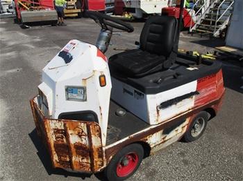 Taylor Dunn` Baggage Tug Vehicle