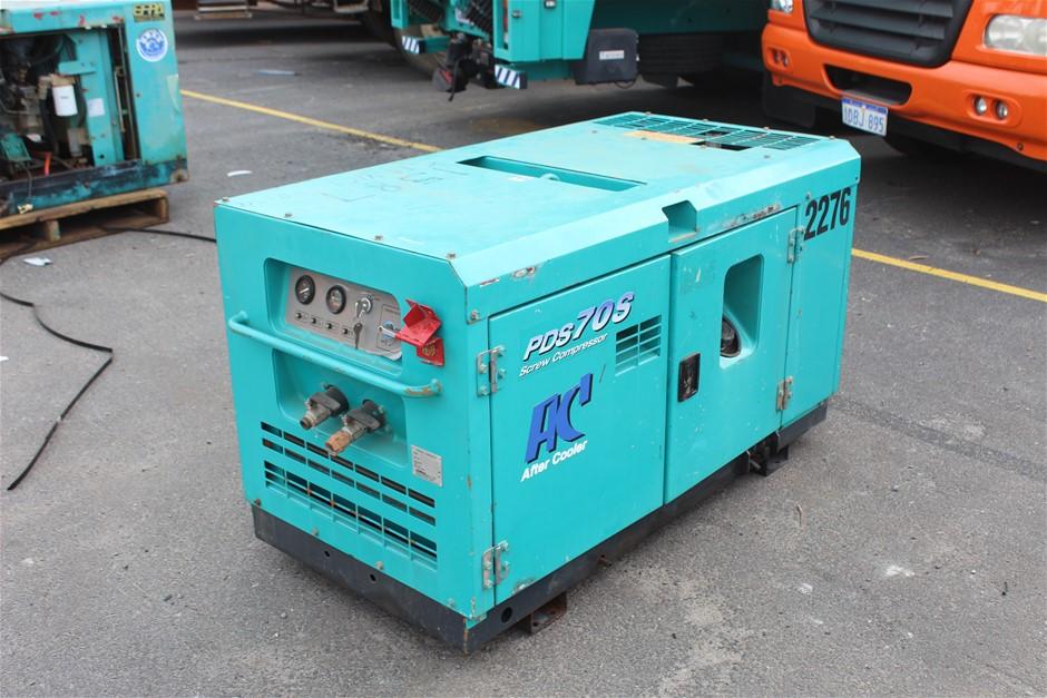 Airman PDS 70S Diesel Compressor
