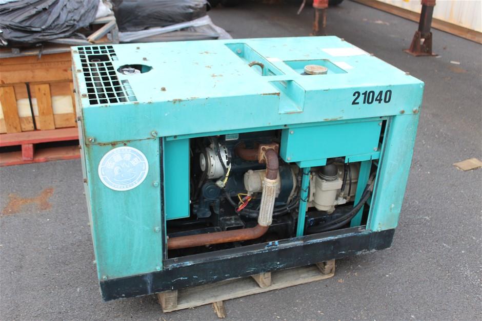Denyo Dis-55SB Diesel Compressor