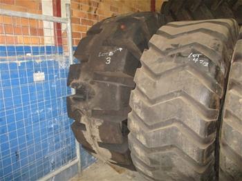 Unused Earthmoving Tyres
