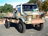 Mercedes Benz Unimog UL1700L Flat Top 4X4 CargoTruck 1986 - Vic and NSW RWC