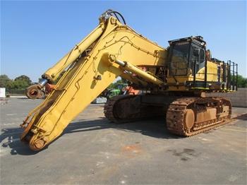 2007 Komatsu PC1250-7 Steel Tracked Excavator with Bucket