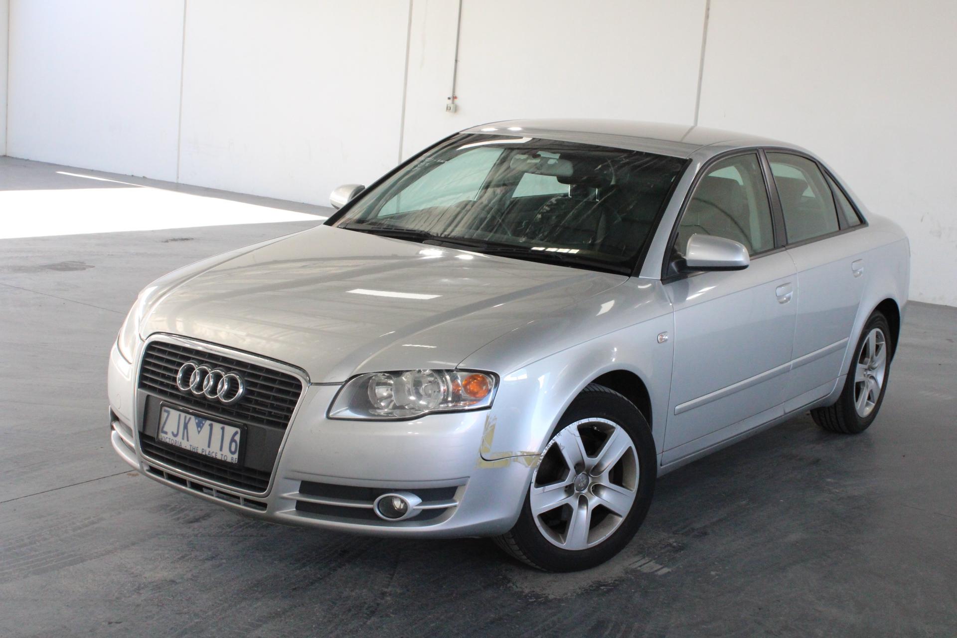 2006 Audi A4 2.0 B7 CVT Sedan