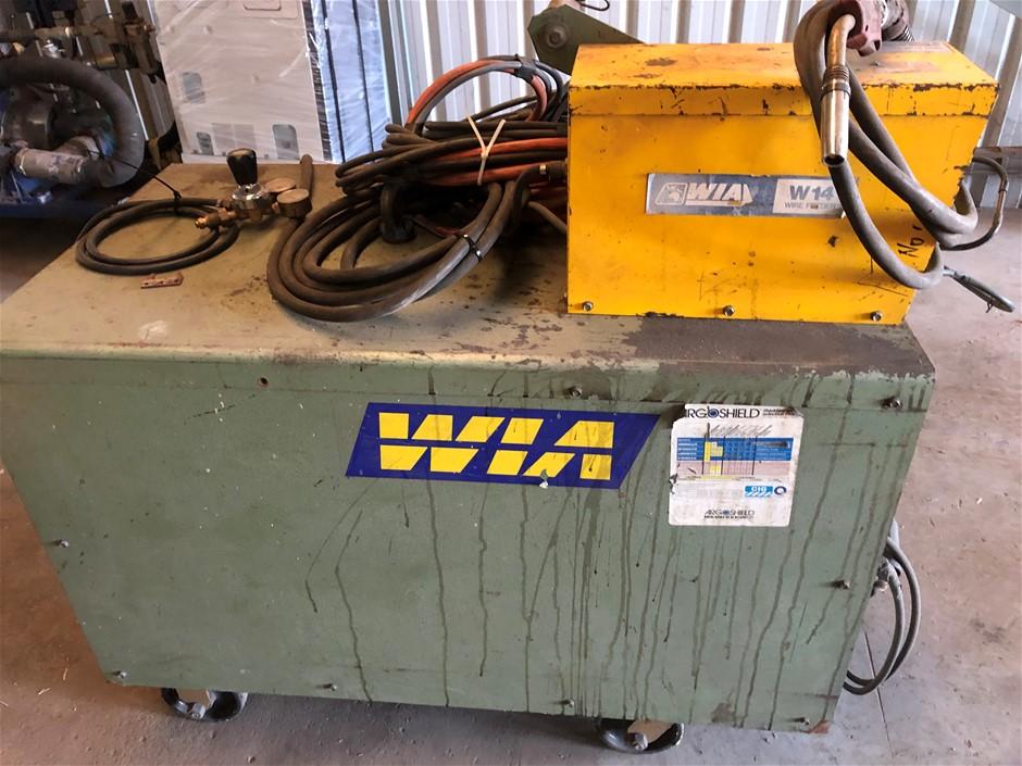 "MIG Welder WIA ""Weldmatic 600"" 3 Ph."