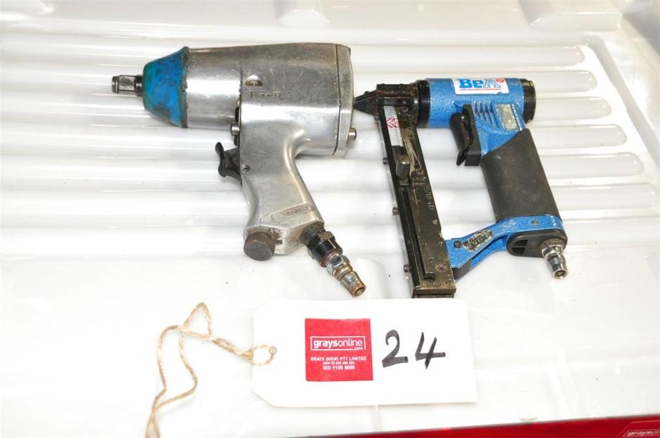 Qty 2 x Assorted Pneumatic Air Tools